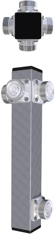 4-Bay Power Divider