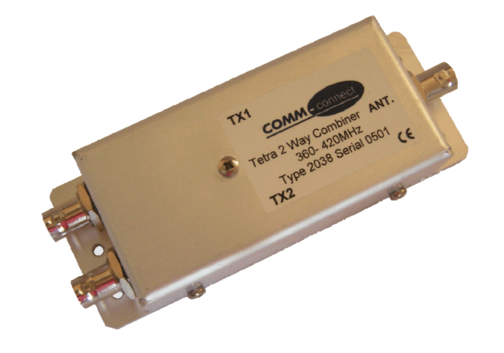 2-to-1 E-TETRA Combiner, 360 - 440 MHz